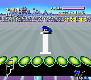 Screenshot Thumbnail / Media File 1 for F-Zero (USA) [Hack by Smkdan v1.0] (All Track Practice)